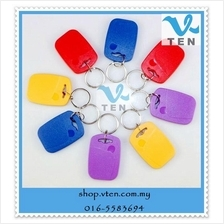 ID/IC copy double-frequency entrance guard composite key chain inducti