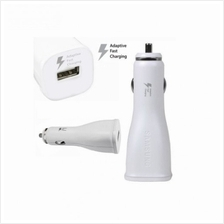 Original Samsung S6 Fast Charging Car Charger WHITE (Imported Set)
