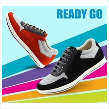 Men Sport Shoe 6cm Internal Invisible Height Increasing Shoes
