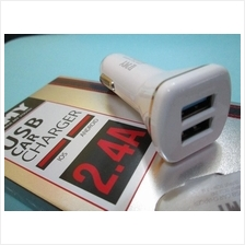 Fast Charger 2.4A Car Charger with Dual USB Port. car charger fast