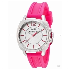 COACH 14502151 Women's Boyfriend Small Sporty Silicone Strap Pink