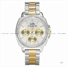 COACH 14502082 Women's Boyfriend Multifunction Glitz Bracelet Two-tone
