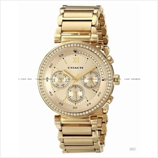 COACH 14502037 Women's 1941 Sport Multifunction Glitz SS Bracelet Gold