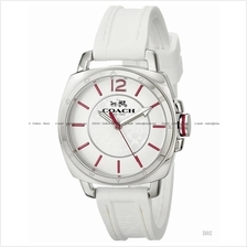 COACH 14502131 Women's Boyfriend Small Sporty Silicone Strap White