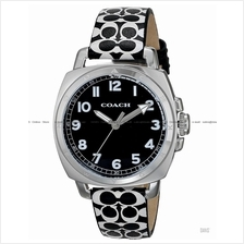 COACH 14502000 Women's Boyfriend Small Classic Leather Strap Black