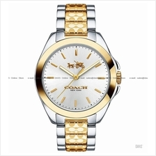COACH 14502180 Women's Tristen Signature C SS Bracelet Two-tone