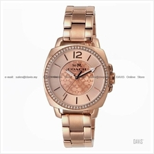 COACH 14502149 Women's Boyfriend Small Glitz SS Bracelet Rose Gold