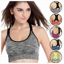 Candy Color Sport Gym Yoga Bra with Adjustable Strap