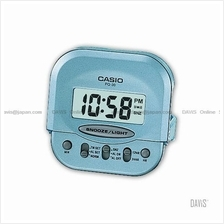 CASIO PQ-30-2 digital clock wake up timer daily alarm snooze blue