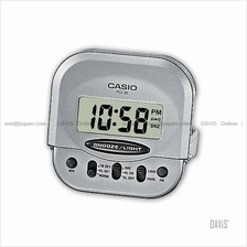 CASIO PQ-30-8 digital clock wake up timer daily alarm snooze grey
