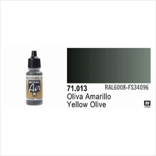 Vallejo Paint - Model Air 71.013 Yellow Olive (17ml)