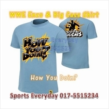 WWE WWF Shirts Enzo & Big Cass How You Doin WRESTLING BAJU GUSTI