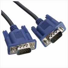 VGA/ RGB Cable Male (M) to Male (M) 1.5M Blue (Refurbished)