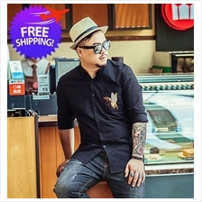 bb130f247db Plus Size for Men Long Sleeve Smart and Casual Shirt Size 2XL to 7XL