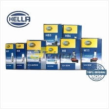 Genuine Hella Germany Halogen Bulb H1/H3/H4/H7/H11/HB3/HB4