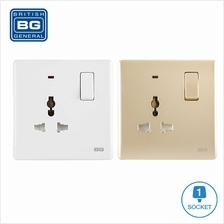 British General PCWH27L *Universal Switched Socket Outlet (LED Indicat
