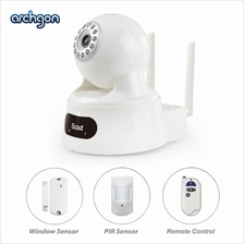 Archgon iScout 2 in 1 HD Smart Alarm and Home Security (SS-6721WR-K1)