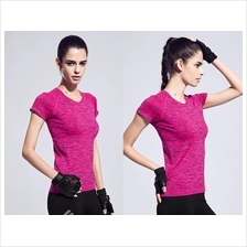 Candy Color Short Sleeve Quick Dry Sport T-Shirt (ST3)