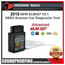 2018 NEW ELM327 OBD ADVANCED ELM Bluetooth OBD2 Scanner CAR Diagnostic