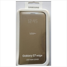 Samsung Galaxy S7 Edge LED View Cover Gold