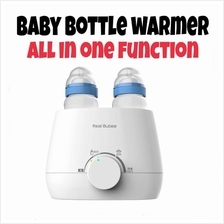 Real Bubee Baby Dual Bottle Food Warmer Milk Warmer Mom ~Fast Shipping