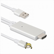 iPhone Lightning to HDMI TV Digital Adapter Airplay Cable 2 Meter