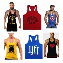 Men Gym Training bodybuilding weight lifting angkat berat top LIFT