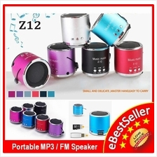 Mini Digital Speaker Z-12 Music USB MP3 Player / FM Radio Support AUX