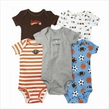 [Borong] Carter's Baby Short Sleeve Romper - 5 Pcs / Pack