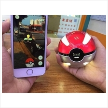 LED Light Pokemon Go PokeBall USB Power Bank Charger