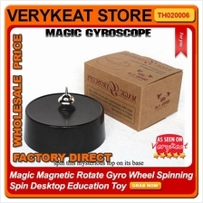 Magic Magnetic Rotate Gyro Wheel Spinning Spin Desktop Education Toy