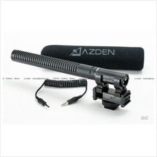 AZDEN SGM-DSLR - Broadcast Shotgun Microphone for DSLR Cameras
