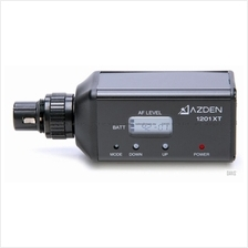 AZDEN 1201XT - UHF Plug-In Transmitter Broadcast Wireless