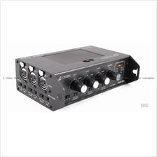 AZDEN FMX-32a - Pro Field 3-CH Portable Audio Mixer 3 XLR DSLR Battery