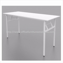 6 x 2.5 ft Office White Banquet Folding Table OFMW1875 setia alam KL