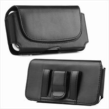 UNIVERSAL WAIST BELT PHONE HOLDER LEATHER FLIP COVER POUCH BAG