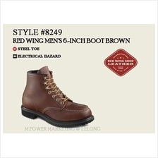 RED WING 8249 MEN'S 6-INCH BOOT Safety Shoes Working Shoes