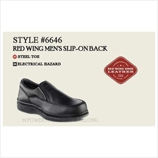 RED WING 6646 MEN'S SLIP-ON Safety Shoes Working Shoes