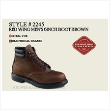 RED WING 2245 MEN'S 6-INCH BOOT Safety Shoes Working Shoes