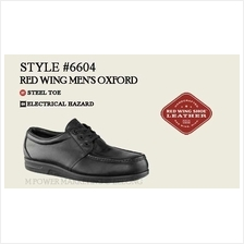 RED WING 6604 MEN'S OXFORD Safety Shoes Working Shoes