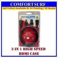 3 IN 1 Video Audio HDMI Cable Adaptor Adapter