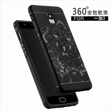 ONE PLUS THREE 3 3T A3000 COCOSE SGP Dragon 360 Full Protection Case