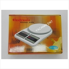 Electronic Digital Kitchen/Home/Food Scale + Free Battery -10kg