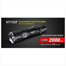 Klarus XT11GT Utilizes Cree XHP35 HD E4 LED Flashlight - 2000 Lumens