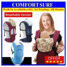 NEW Baby Breathable Baby Child Carrier Front Back Hip Seat