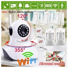 960P HD WiFi IP Camera + Panic Alarm Sirens *Clear Vision Voice CCTV*