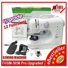 Original Sewing Machine FSHM-505A Pro Upgraded 12 Functions 505