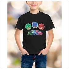 PJ Masks 3 Characters kids T-shirt (3 Designs)