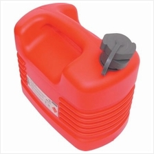 10LTR PLASTIC JERRY CAN WITH INTERNAL SPOUT