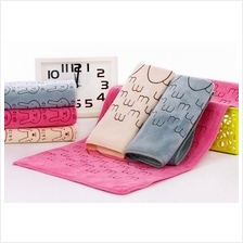 Microfiber Towel 25x50cm Children Soft Absorbent Towel (Ready Stock)